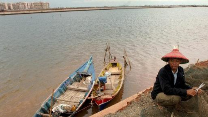 hilir Proyek Banjir Kanal Timur (BKT), Marunda, Jakarta