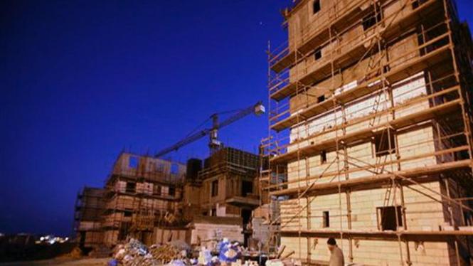 Lokasi pembangunan pemukiman warga Israel di Yerusalem