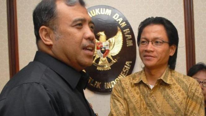 Patrialis Akbar dan Usman Hamid