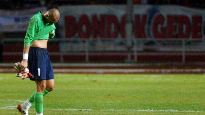 Indonesia vs Kuwait : Markus Horison