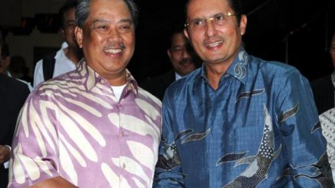 Menteri Fadel Muhammad & Wakil PM Malaysia Tan Sri Dato Haji Muhyiddin
