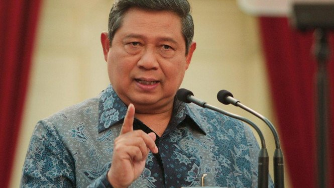 Presiden SBY pidato soal kasus Century dan Bibit-Chandra