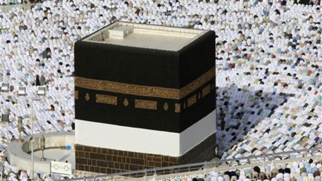 Ka'bah dibangun dari batu yang berserak.