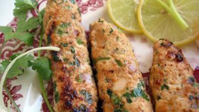 Kebab Kambing Saus Lemon