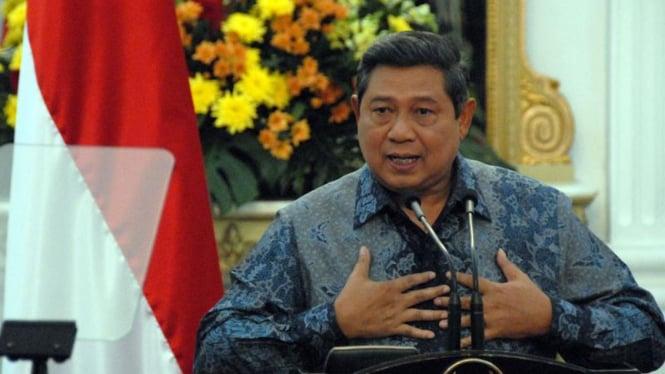 Pidato Presiden Susilo Bambang Yudhoyono Soal Rekomendasi Tim Delapan