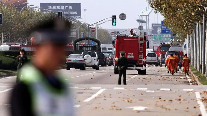 Kecelakaan Pesawat Kargo di Cina