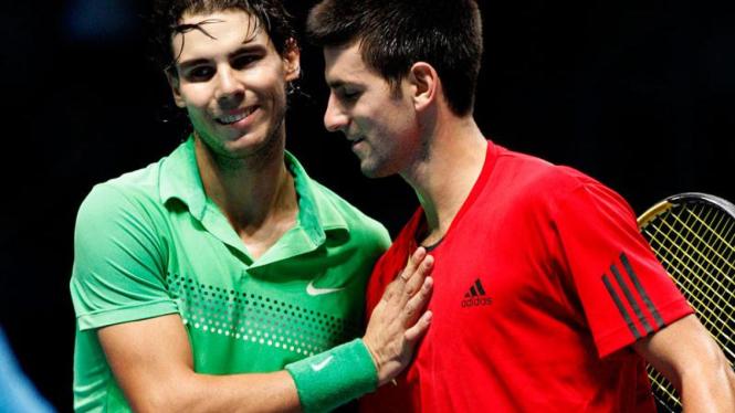 Djokovic Gagalkan Langkah Nadal