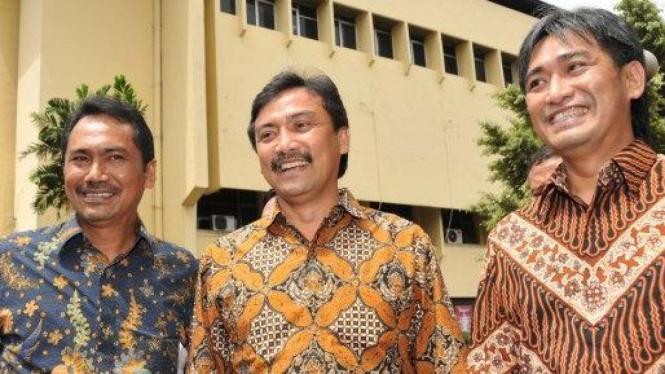 Tiga bersaudara Mallarangeng: Rizal, Andi Alfian & Choel
