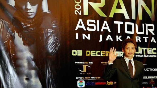Konser Rain Siap Gemparkan Jakarta