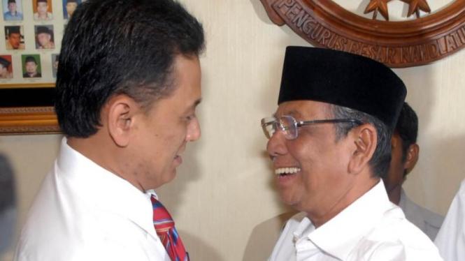 Chandra M Hamzah dan Hasyim Muzadi