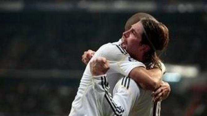 Sergio Ramos (kanan) dan Pepe