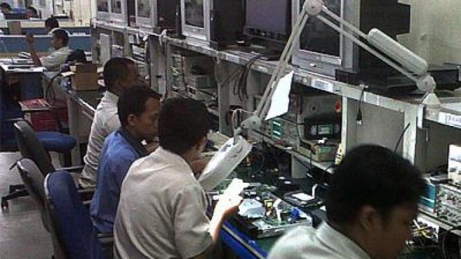 Pabrik LG Electronics Indonesia di Cibitung, Jawa Barat