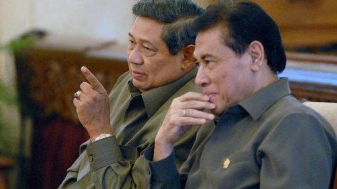Susilo Bambang Yudhoyono (SBY) dengan Muladi