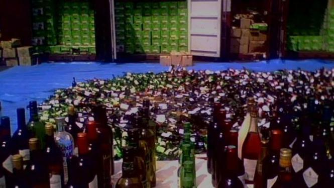 Minuman keras yang dimusnahkan Bea Cukai