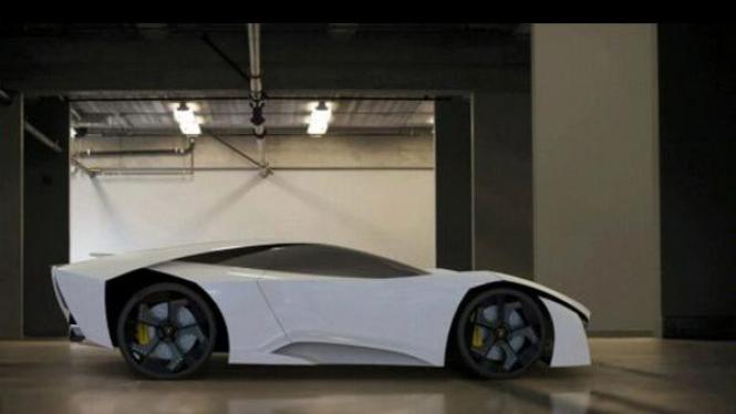 Mobil konsep Lamborghini Madura