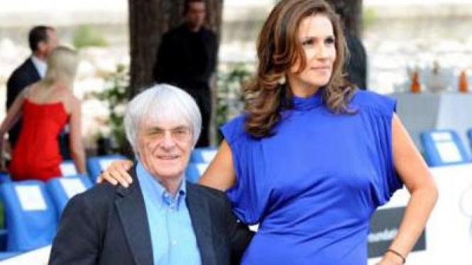 Bernie dan Slavica Ecclestone