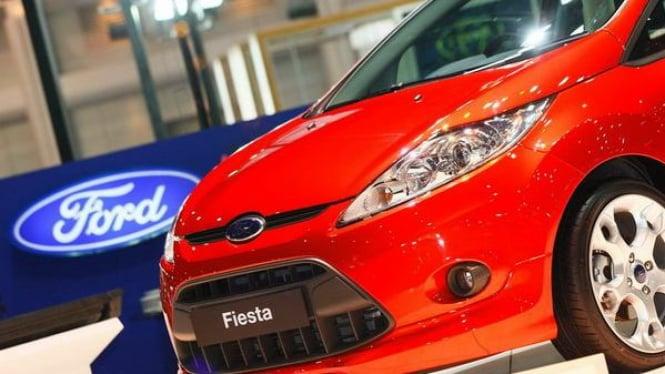 Ford Fiesta saat dikenalkan di Thailand