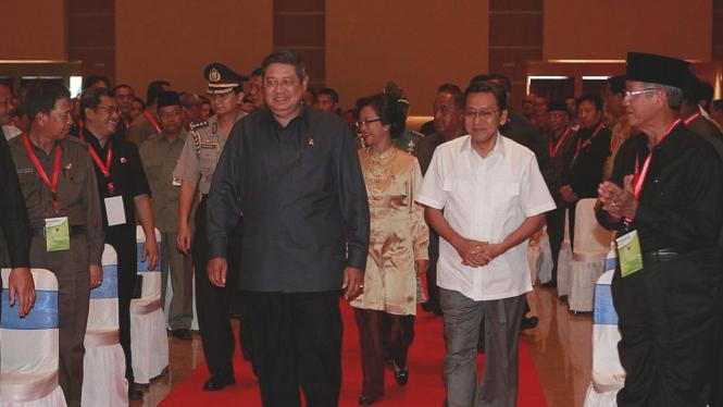 Presiden SBY & Wapres Boediono di Musrenbangnas