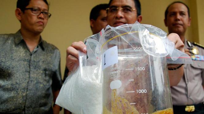 Polisi Tangkap Lima Pengedar Narkoba
