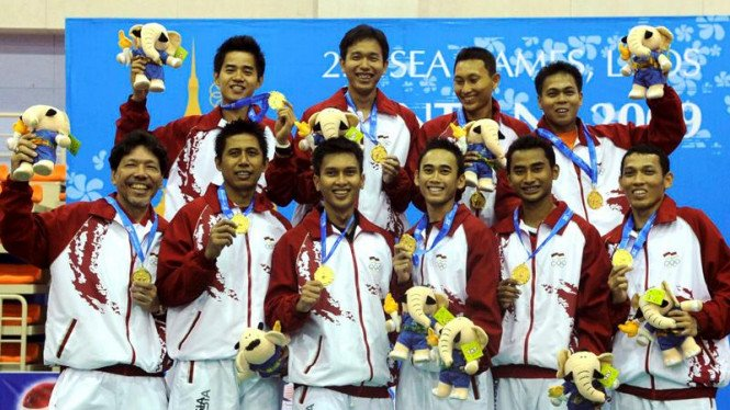 Bulutangkis  Sea Games : Tim Beregu Putra