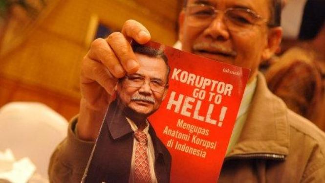 Mantan Pimpinan KPK Bibit Samad Rianto.