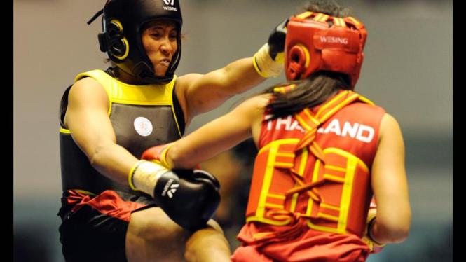 Sea Games Wushu : Moria Manalu