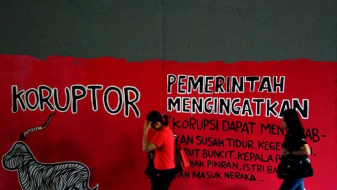 Mural Anti Korupsi