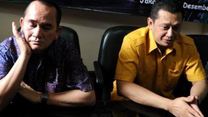 Ruhut Sitompul (Demokrat) dan Bambang Soesatyo (Golkar)