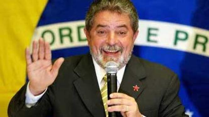 Presiden Brasil Luiz Inacio Lula da Silva