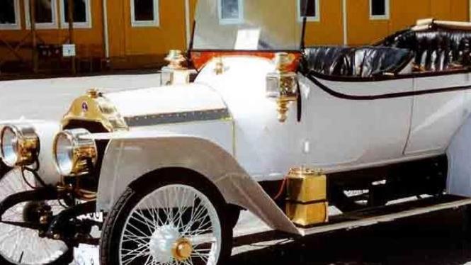 Ilustrasi mobil klasik