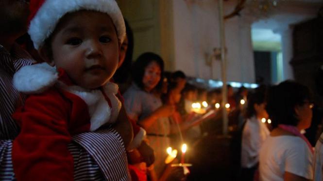 Misa Natal di Gereja Immanuel