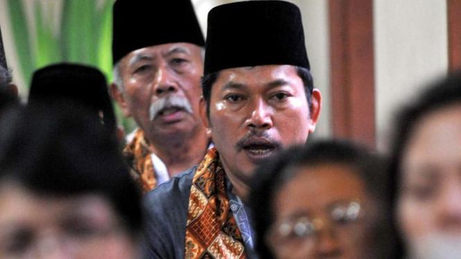 Misa Natal di Gereja Kampung Sawah, Bekasi