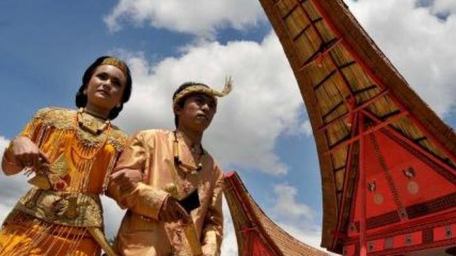 festival budaya Lovely December Tana Toraja di Rantepao, Sulsel