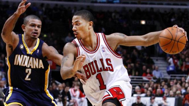 Bulls - Pacers : Derrick Rose & Earl Watson
