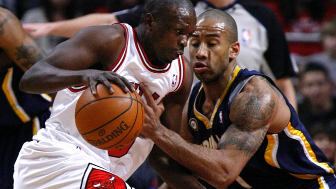 Bulls - Pacers : Luol Deng & Dahntay Jones