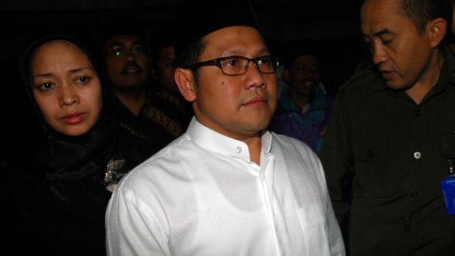 Gus Dur  Wafat : Muhaimin Iskandar