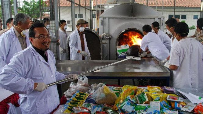 Produk Impor Ilegal : Menteri Pertanian Suswono