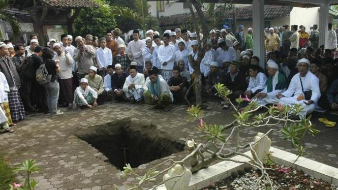 Liang lahat makam Abdurrahman Wahid (Gus Dur) di Jombang, Jawa Timur