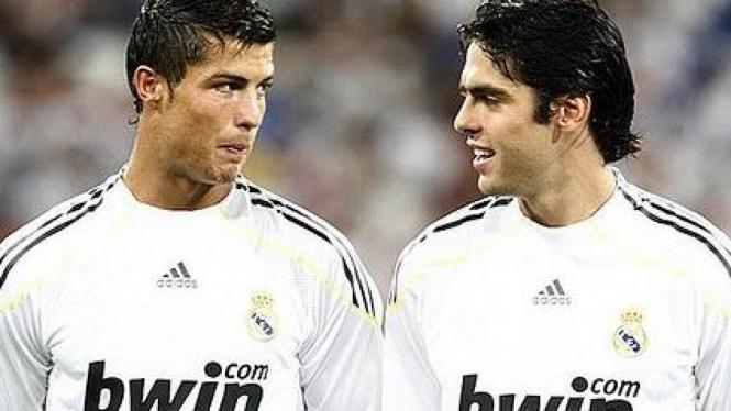 Cristiano Ronaldo & Ricardo Kaka