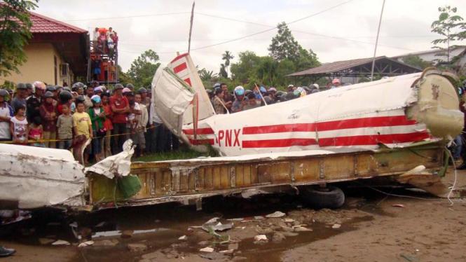 Pesawat Jatuh di RSUD Agoesdjam, Ketapang