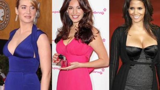 Kate Winslet, Kelly Brook, Halle Berry, model tubuh idaman wanita