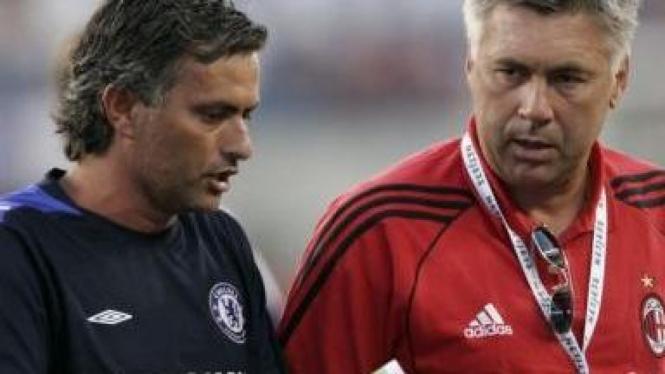 Jose Mourinho & Carlo Ancelotti