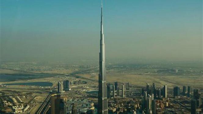 Gedung Burj Dubai, Uni Emirat Arab