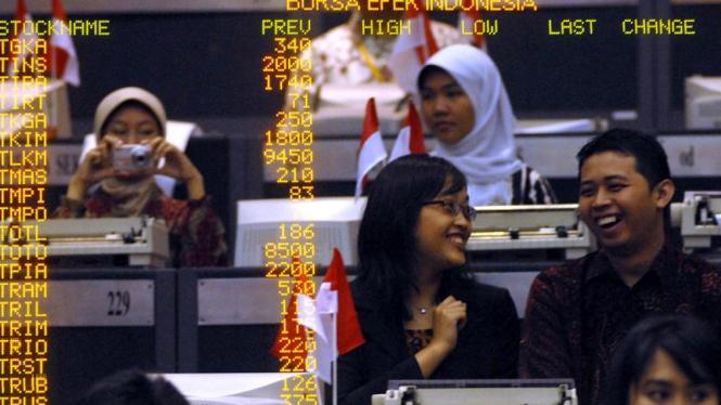 Perdagangan Saham BEI Tahun 2010 Dibuka