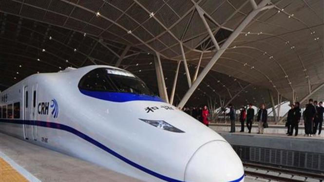 Kereta super cepat di China