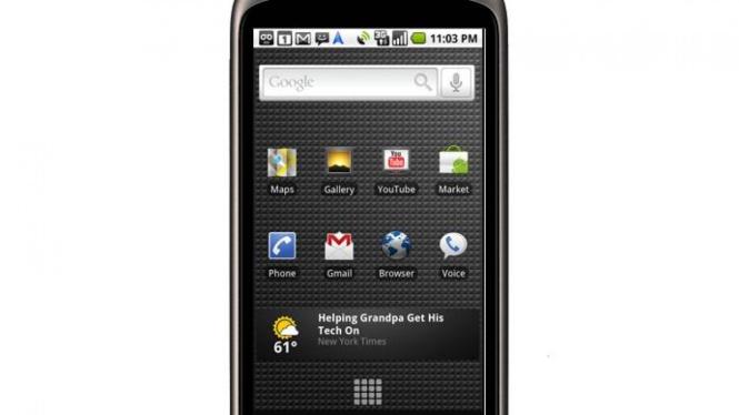 Nexus One, ponsel Android besutan Google