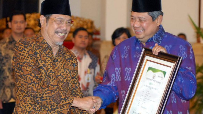 Gerakan Wakaf Uang : Presiden SBY
