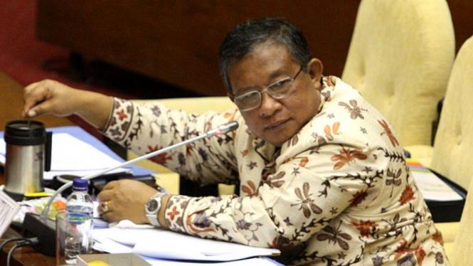 Darmin Nasution Hadiri Rapat Pansus Bank Century DPR RI