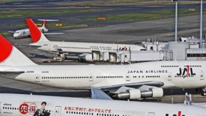 Maskapai Japan Airlines (JAL)