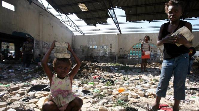 Haiti Pasca Gempa : Anak-anak